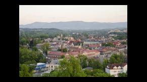 Współpraca transgraniczna na terenie miast: Cieszyn i Czeski Cieszyn.